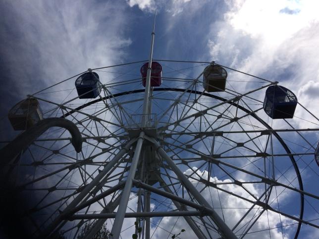 La grande roue, installée depuis 2017